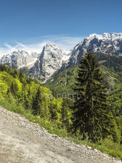 Autriche, Tyrol, Alpes, Kaisertal, Wilder Kaiser — Photo de stock