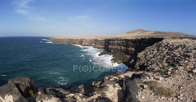 Испания, Канарские острова, Фуэртевентура, западное побережье вблизи Los Molinos — стоковое фото