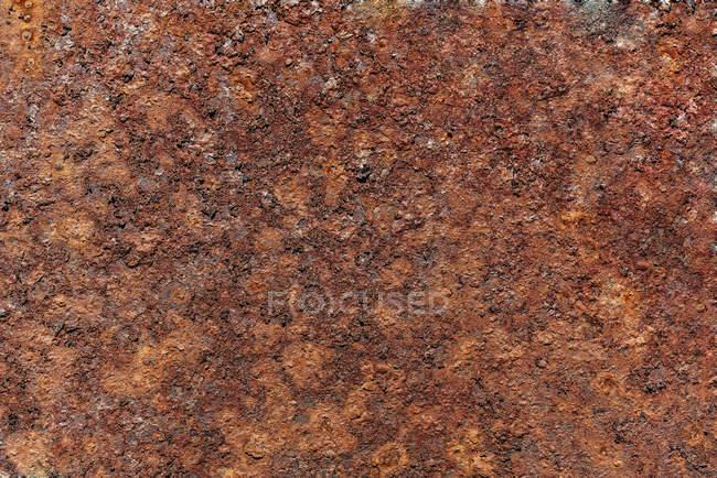 View of orange rust, full frame — Stock Photo
