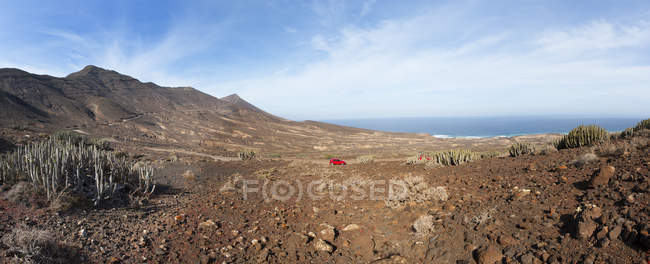 Испания, Канарские острова, Фуэртевентура, дорога к Cofete — стоковое фото