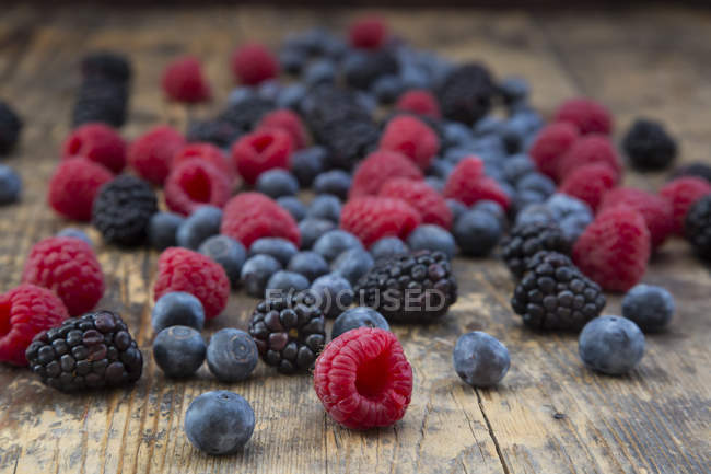 Fresh wild berries — Stock Photo