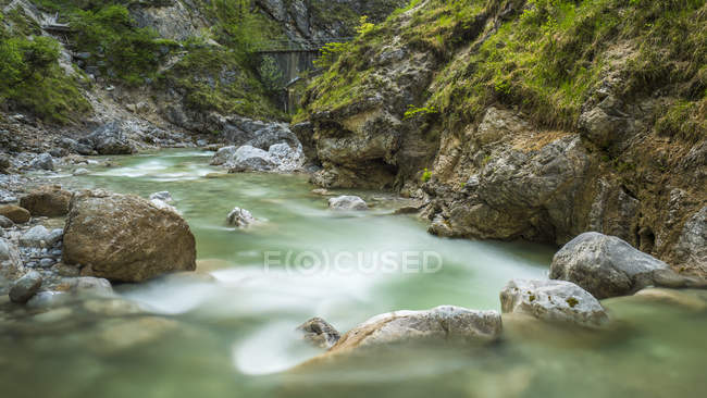Austria, Tyrol, Sprachen Gorge, Sparchenbach stream — Foto stock