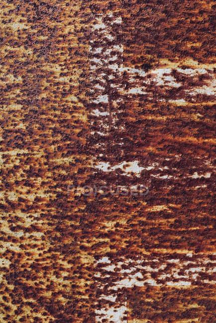 Вид на красную ржавчину, крупный план — стоковое фото