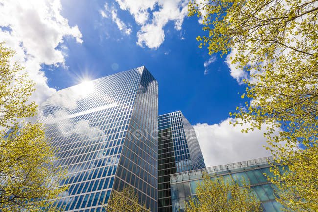 Germany, Munich, Highlight Towers during daytime — Stock Photo