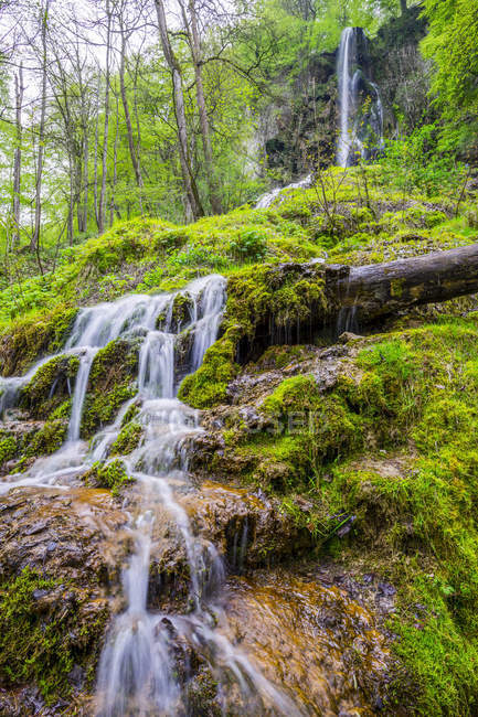 Germany, Bad Urach, Swabian Alb, Urach waterfall — Stock Photo