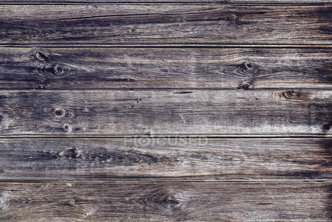 Barres en bois Weathered, gros plan — Photo de stock