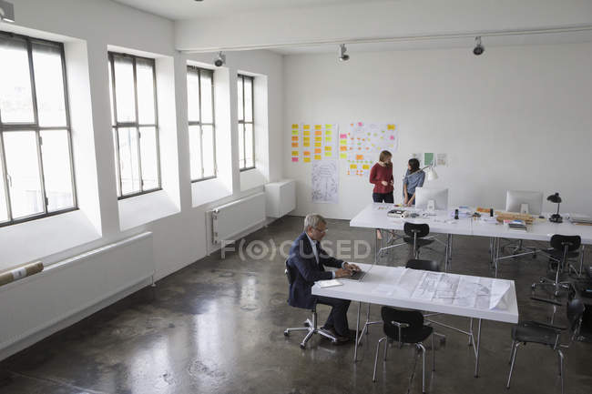 Architects working in office — Stock Photo