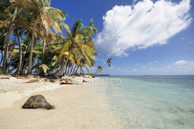 Panama, San Blas Islands, Cayos Los Grullos — Stock Photo