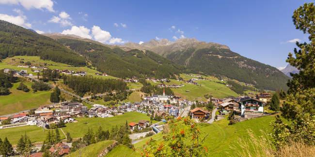 Австрия, Тироль, Зельден, Озил в дневное время — стоковое фото
