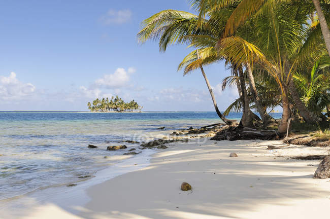 Панама, Сан-Блас острова, Cayos Лос Grullos, к северу от Isla Морон — стоковое фото