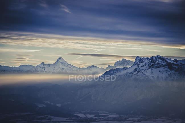 Germany, Berchtesgaden, Watzmann and Untersberg — Stock Photo