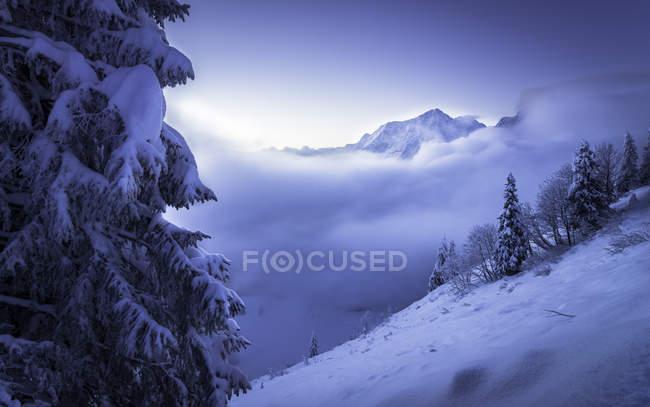 Germany, Bavaria, Berchtesgaden Alps, Hoher Goell - foto de stock
