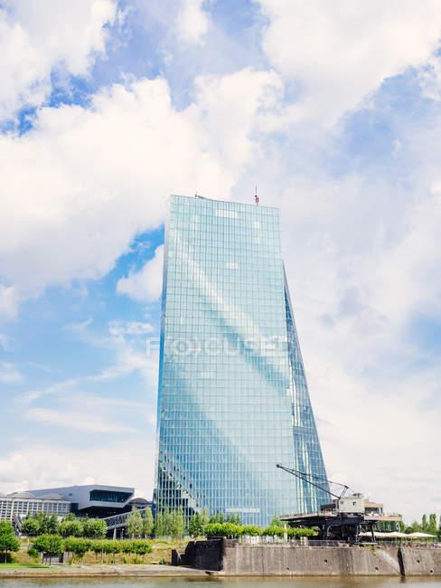 Deutschland, Frankfurt, Europäische Zentralbank — Stockfoto