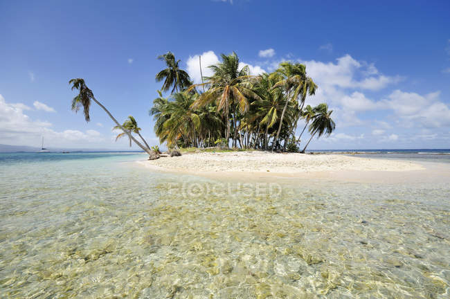 Panama, San Blas Islands, Cayos Los Grullos, north of Isla Moron — Stock Photo