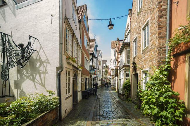 Germany, Bremen, Schnoor district during daytime — Stock Photo