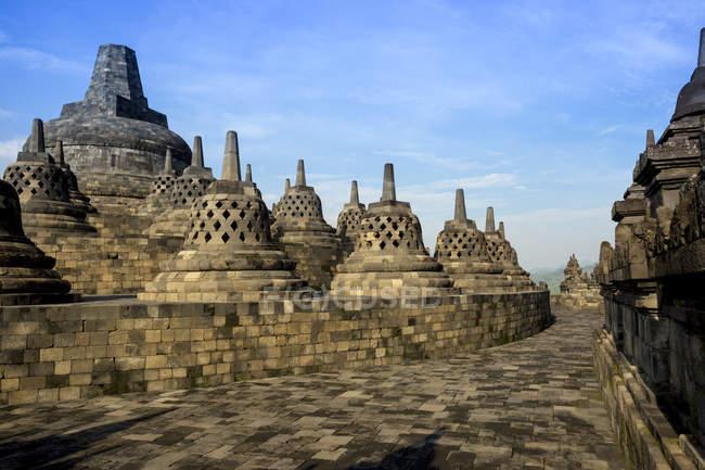 Indonésie, Java, Borobudur Temple Complex — Photo de stock