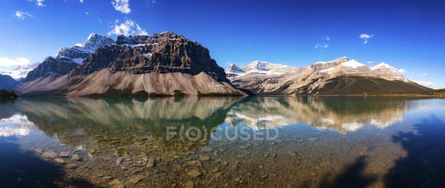 Canada, Alberta, Bow Lake, Icefields Parkway, Parco nazionale Jasper — Foto stock