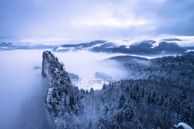 Österreich, Bundesland Salzburg, Hallein, Berchtesgadener Alpen, kleinen Barmstein — Stockfoto