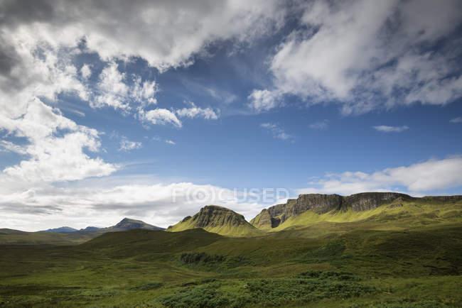 Великобритания, Шотландия, Остров Скай, Куинг, Троттерниш Ридж — стоковое фото