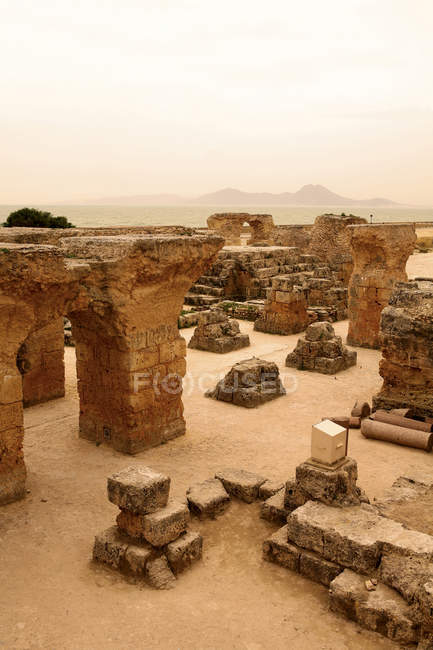 Archaeological Site of Carthage, Tunisia — Stock Photo