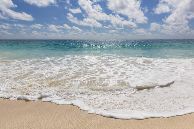 Seychelles, Indian Ocean, Mahe Island, Beach Anse Intendance — Stock Photo