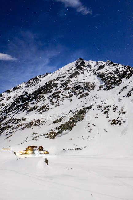 Romania, Southern Carpathians, Fagaras Mountains, winter landscape — Stock Photo