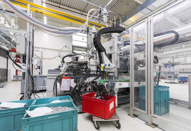 Alemanha, St. Ingbert, tecido, máquina, ferramentas — Fotografia de Stock