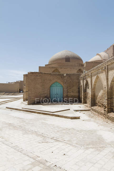 Irã, Isfahan, vista para o lado traseiro da Mesquita de Sousa — Fotografia de Stock