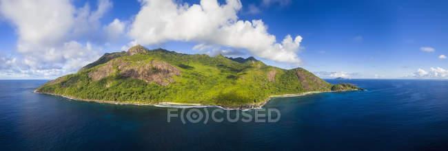 Seychelles, Silhouette Island, Point Ramasse Tout, Spiagge Anse Lascars e Anse Patates — Foto stock
