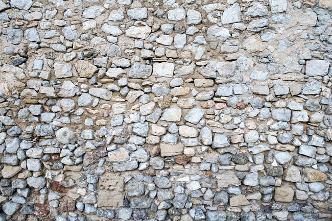 Espanha, Ibiza, Eivissa, parede de pedra — Fotografia de Stock