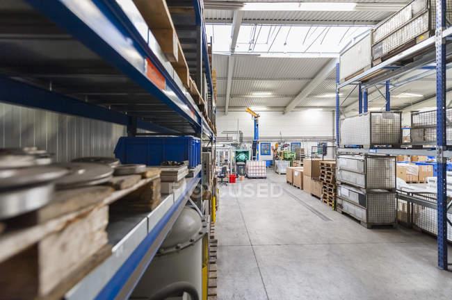 Порожній промислових зал — стокове фото