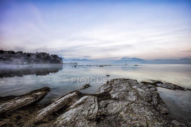 Lake Garda natural landscape — Stock Photo