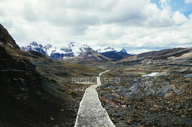 Peru, Ancash, Cordilheira Blanca, Cordilheira dos Andes — Fotografia de Stock