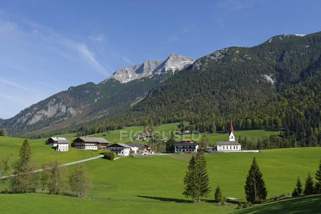 Austria, Tyrol, Steinberg am Rofan — Stock Photo