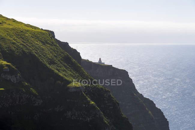 Portugal, Madeira, Ponta do Pargo e vista panorâmica vista do mar — Fotografia de Stock