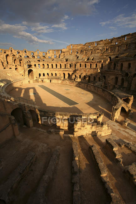 Tunisia, Colosseum in El Djem  during daytime — Stock Photo