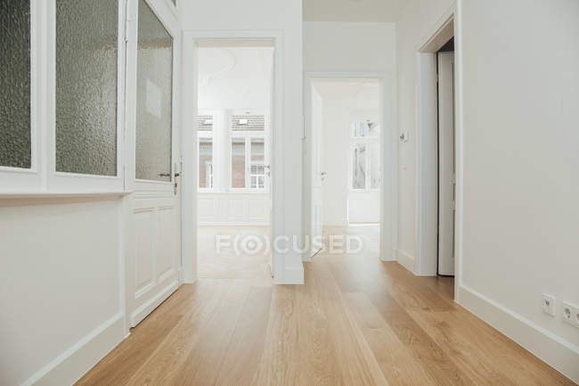 House with empty rooms — Stock Photo