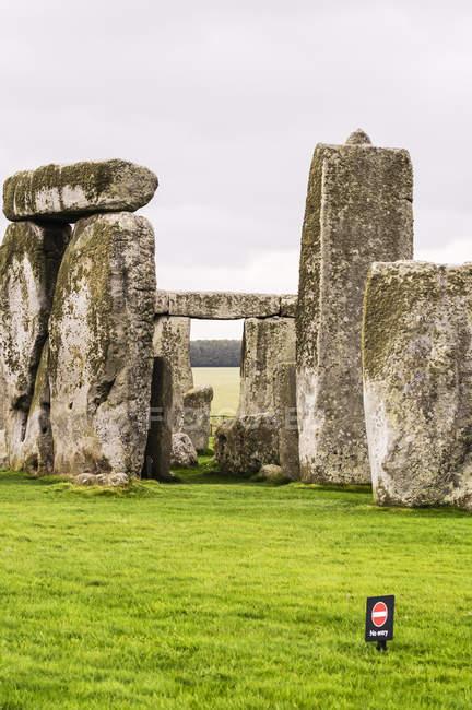 UK, England, Wiltshire, Stonehenge  during daytime — Stock Photo