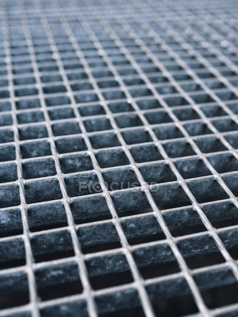 View of Metal grid, close up — Stock Photo