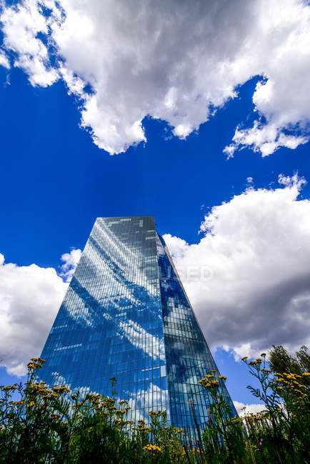 Deutschland, Hessen, Frankfurt, Europäische Zentralbank — Stockfoto