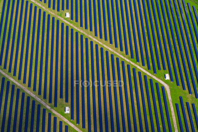 Германия, Бавария, солнечная электростанция — стоковое фото