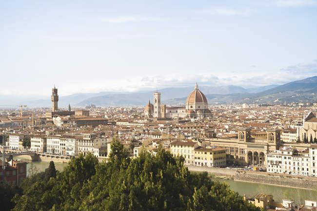 Itália, Toscana, Florença, paisagem urbana durante o dia — Fotografia de Stock