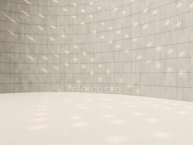 Rotunda, 3D Rendering on indoor view — Stock Photo