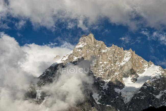 Frankreich, Chamonix, Alpen, Aiguille du Midi — Stockfoto