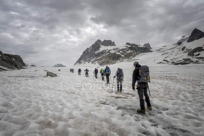 Switzerland, Pennine Alps, Otemma Glacier — Stock Photo