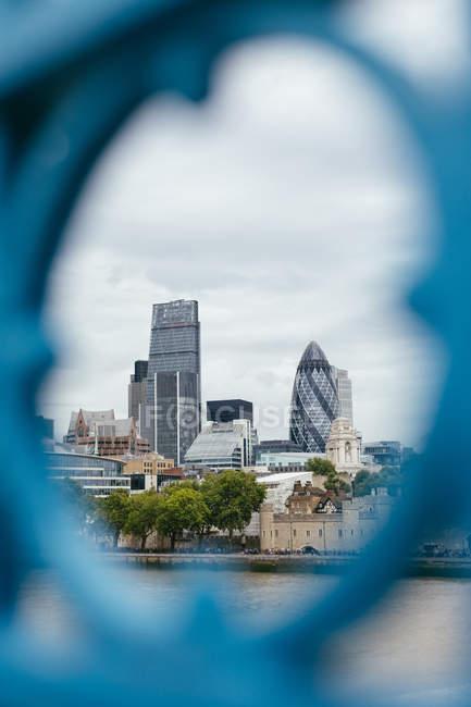 Reino Unido, Londres, vista para a cidade durante o dia — Fotografia de Stock