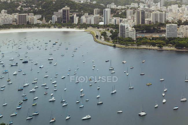 Brasil, Rio de Janeiro, Vista da Praia de Botafogo — Fotografia de Stock