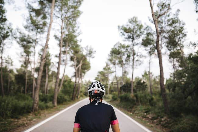 Radsportler, Renn-Zyklus auf Straße — Stockfoto