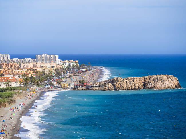 España, Andalucía, Granada, Costa del Sol, Salobreña durante dayitme - foto de stock
