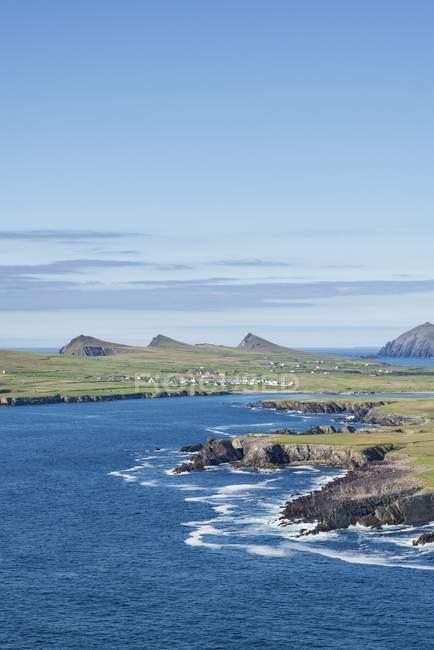 Ireland, County Kerry, Dingle Peninsula, View to Atlantic coast — Stock Photo